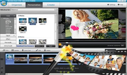 شرح وتحميل افضل برنامج Wondershare dvd Slideshow لدمج الصور على شكل فيديو احترافي