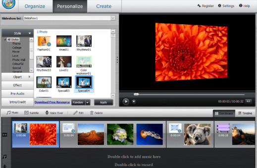 تحميل برنامج wondershare dvd slideshow builder deluxe مجانا