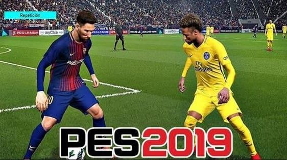 تحميل PES 2019 Apk Mode+Obb للاندرويد مجانا