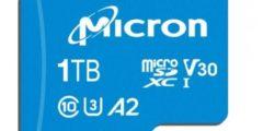 بطاقة microSD بسعة 1 تيرابايت